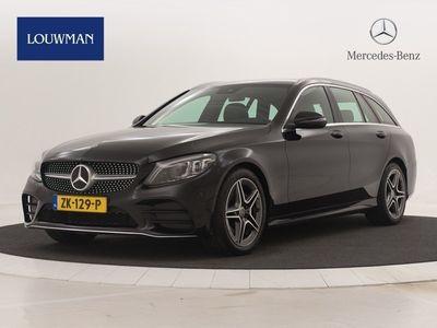 tweedehands Mercedes 180 C-Klasse EstateAMG Automaat COMAND Online navigatie | Widescreen Cockpit | Alarm | Stoelverwarmin | Achteruitrij camera | Cruise control | Soundsystem | Sfeerverlichting.