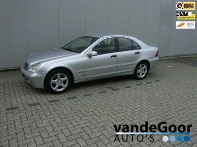 tweedehands Mercedes C200 CDI Classic '05, NL-AUTO, 199000 KM, APK TOT 05-2021 !
