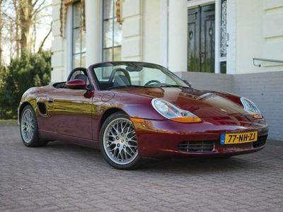 tweedehands Porsche Boxster [986] 2.5 l Navi l HiFi l leder l lage km-stand!