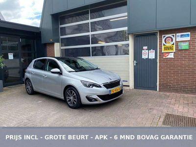 tweedehands Peugeot 308 1.2THP 130 PK AUTOMAAT 48.000KM!! NAVI/PANO *ALL-I