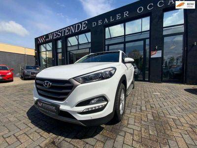 tweedehands Hyundai Tucson 1.6 T-GDi Premium 4WD AUTOMAAT NAVI ACHTERUITRIJCA
