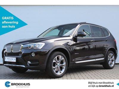 tweedehands BMW X3 xDrive20i xLine High Executive Automaat | Glazen panoramadak | Navigatiesysteem professional | Comfort access | Sportstoelen | Vol leder | Stoelverwarming | Head-up display | Elektrisch verstelbare voorstoelen | Achteruitrijcamera | Adaptieve bocht