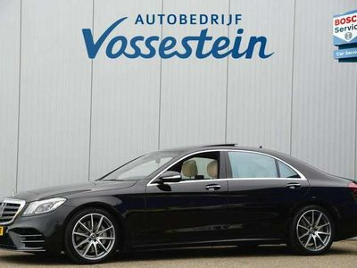 tweedehands Mercedes S560 4Matic Lang Premium Plus 470pk / AMG / Nwpr: E186.