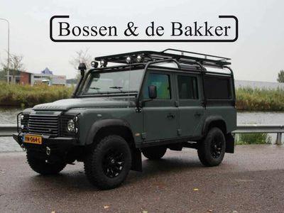 "tweedehands Land Rover Defender 2.2 D HT 110"" Unieke camper | Lage kilometerstand"