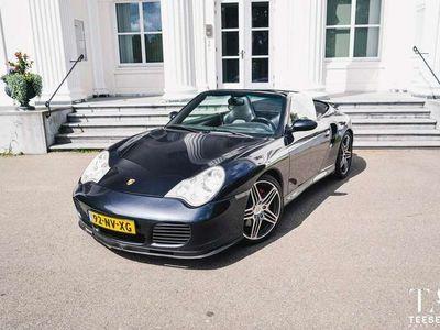 tweedehands Porsche 996 Cabrio 3.6 Turbo | X50 | 450pk | Handgeschakeld