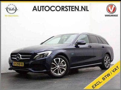 tweedehands Mercedes C350 Estate 350e (Ex. Btw) 1/2Leder Navi Ecc Pdc-V+Acht