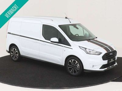 tweedehands Ford Transit Connect 230L L2 1.5 EcoBlue 120 PK Sport Nr. 502941 3 PERSOONS 2X SCHUIFDEUR NAVIGATIE CAMERA CRUISE CONTROL AIRCONDITIONING
