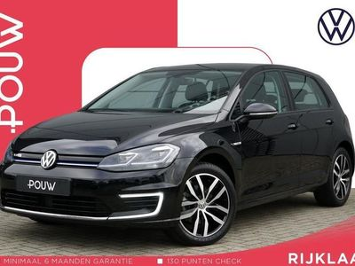 tweedehands VW e-Golf 136pk AUT + € 23.100,- EXCL. BTW + LED Koplampen + Digitaal Dashboard