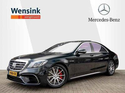tweedehands Mercedes S63 AMG AMG 4Matic+ Lang Premium Plus Panodak   Massage   Executive stoel   HUD   entertainment achter