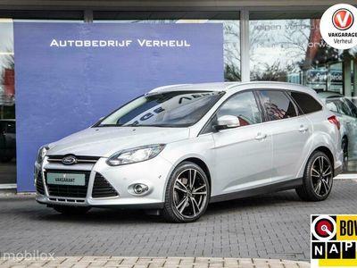 tweedehands Ford Focus Wagon 1.6 EcoBoost Titanium 150Pk Navi Nap Boekjes