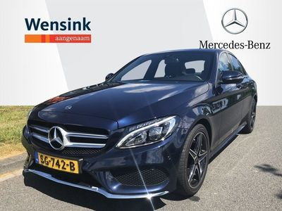 tweedehands Mercedes C180 Sport Edition AMG Line | Achteruit rijcamera|..