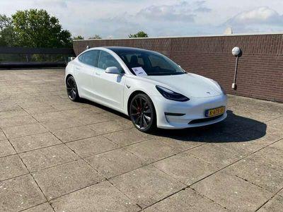 tweedehands Tesla Model 3 Long Range Performance / Incl. BTW
