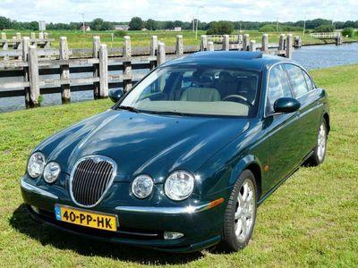tweedehands Jaguar S-Type 4.2 V8 Sport met slechts 80.000 km! Prachtige,voll