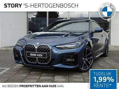 tweedehands BMW 420 420 Coupé i High Executive M-sport Direct Drive voo