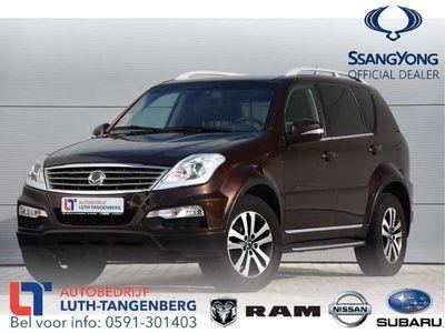 tweedehands Ssangyong Rexton RX 200 e-XDI Sapphire VAN Navi
