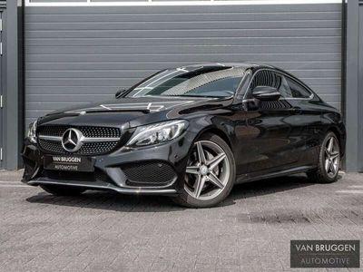 "tweedehands Mercedes C180 Coupé AMG Premium   Camera, Navi, Stoelv, 18"""