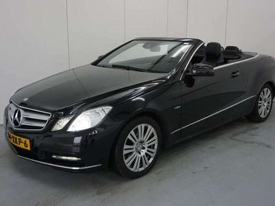 tweedehands Mercedes E350 Cabriolet CDI Elegance AUTOMAAT / LEDER / NAVI / X
