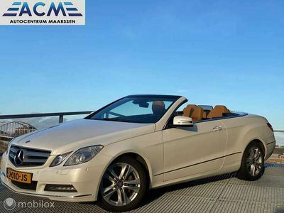 tweedehands Mercedes E350 Cabriolet CGI Elegance