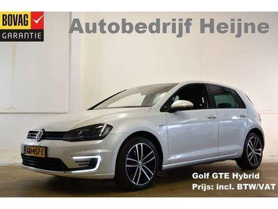 tweedehands VW Golf 1.4 TSI 204PK GTE (INCL BTW!) DSG SPORT NAVI/PDC/L