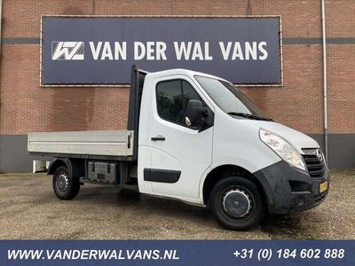 tweedehands Opel Movano 2.3CDTI 164pk Pick-up Airco, Trekhaak 2500kg 318x2