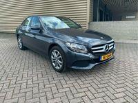 tweedehands Mercedes C200 CDI Ambition [led,fm navi,zwart leer sportstoelen,lmv]