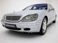 tweedehands Mercedes S600 Lang Youngtimer Nw. Prijs € 158.823 VOL! Pano Memo
