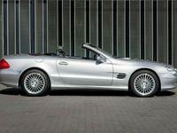 tweedehands Mercedes SL500 zeer lage km stand, Youngtimer