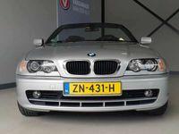 tweedehands BMW 318 Cabriolet 318Ci Airco,Leer,parkeersensoren