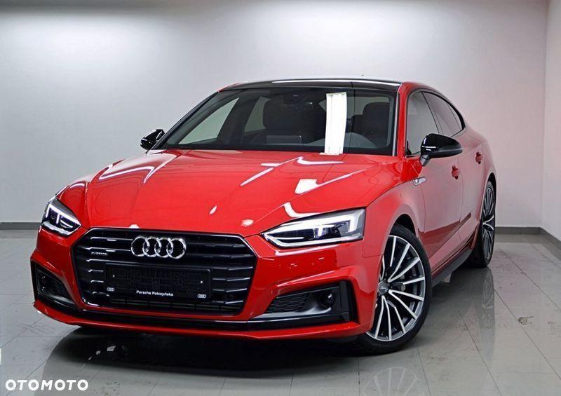 Cudowna Sprzedany Audi A5 F5, używany 2018, km 0 w Warszawa EP68