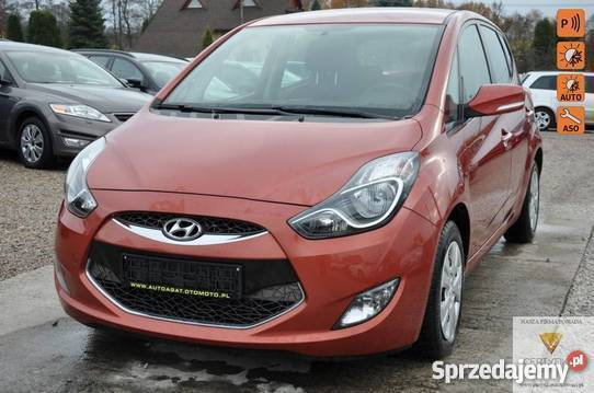 Nietypowy Okaz Sprzedany Hyundai ix20 czerwony, używany 2012, km 154 000 w Ix WO42