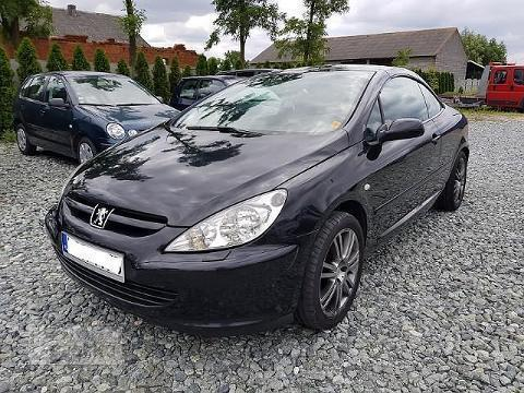 sprzedany peugeot 307 cc 307 i 307 cc c u ywany 2004 km. Black Bedroom Furniture Sets. Home Design Ideas