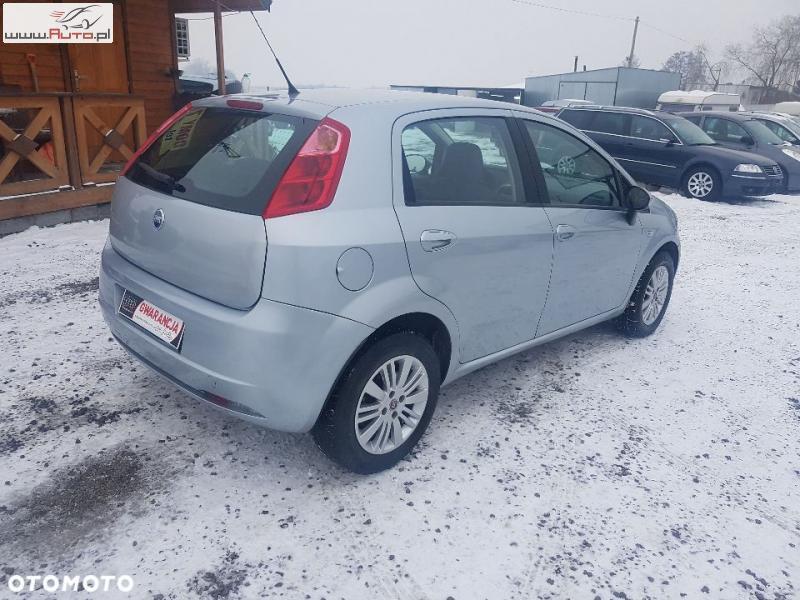 Sprzedany Fiat Grande Punto Klimatronik Używany 2006 Km 167 000 W