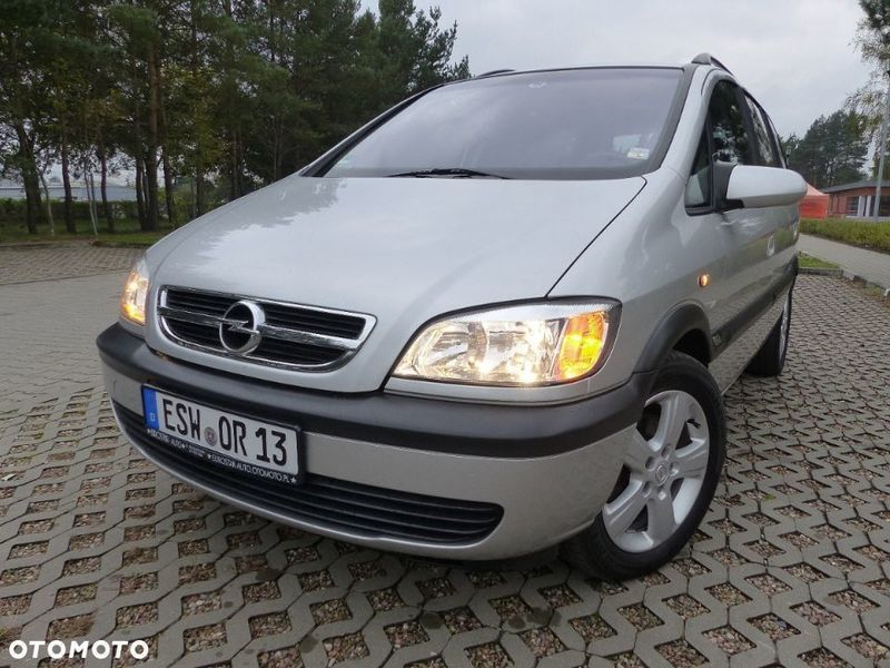 Niewiarygodnie Sprzedany Opel Zafira A, używany 2005, km 215 000 w Piła, pilski KW69