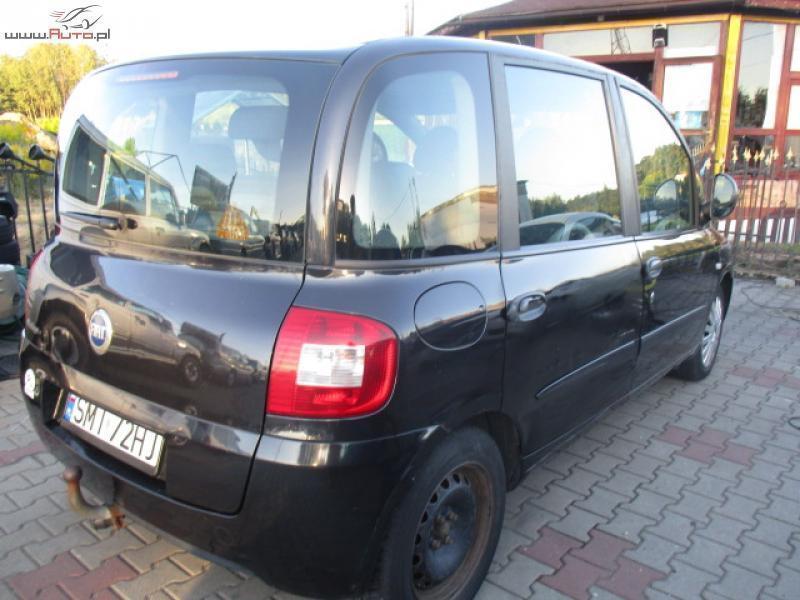 Bardzo dobra Sprzedany Fiat Multipla 1.6 raty bez ba., używany 2006, km 134 000 VS47