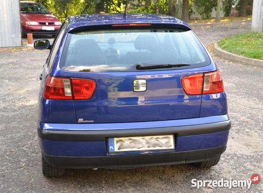 Chłodny Sprzedany Seat Ibiza II FL 1999 1.4 MPI., używany 1999, km 166 000 FG22