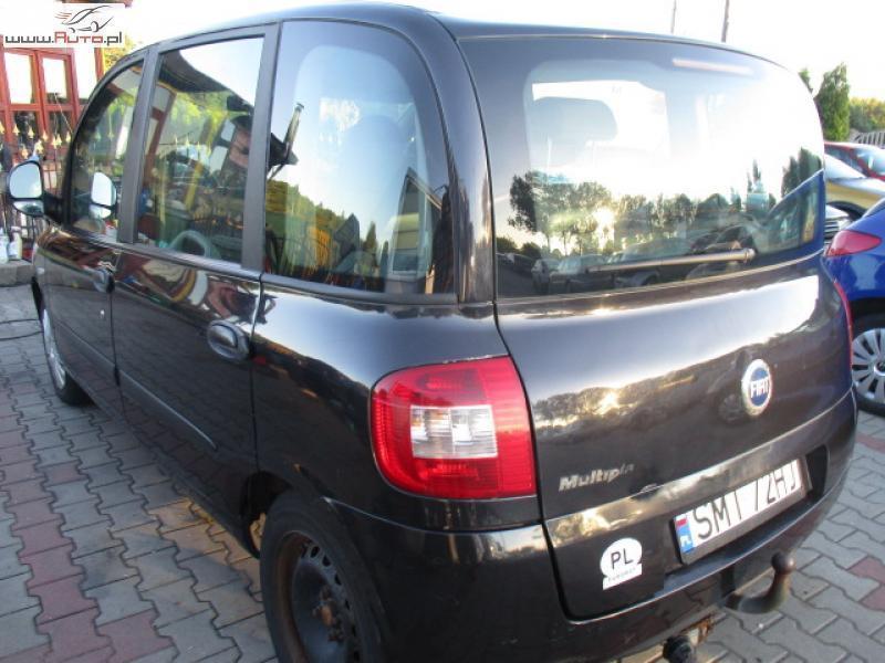 Super Sprzedany Fiat Multipla 1.6 raty bez ba., używany 2006, km 134 000 WY51