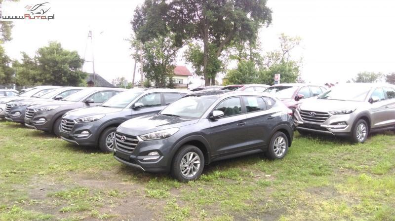Sprzedany Hyundai Tucson Tucson 1 6osta Używany 2016 Km