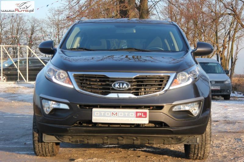 Bardzo dobry Sprzedany Kia Sportage 1.7 RATY BEZ BIK., używany 2014, km 61 000 KL11