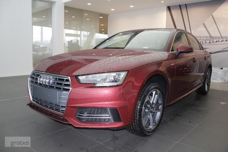 Sprzedany Audi A4 B9 Salon Polska 2018 Używany 2018 Km 0 W