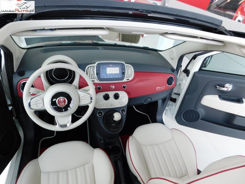 Unikalne Sprzedany Fiat 500 Cabrio 60th Annivers., używany 2017, km 5 w WD72