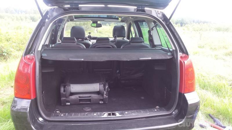 Zaktualizowano Sprzedany Peugeot 307 KOMBI 7 OSOBOWY, używany 2007, km 251 000 w TP35