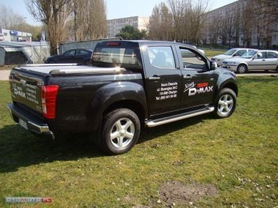 Sprzedany Isuzu D Max Demo Zabudowa Al Uzywany 2013 Km 2 100 W