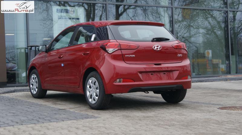 Tylko na zewnątrz Sprzedany Hyundai i20 i20 Rocznik 2018 ., używany 2018, km 4 w Łódź MW71