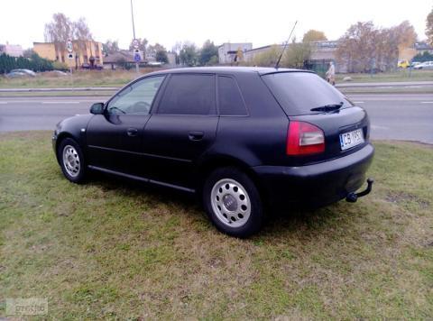 Sprzedany Audi A3 I 8l Czarny Mat Al Używany 2002 Km 215 428 W