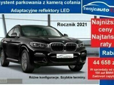używany BMW X4 II xDrive20i, Model M Sport, Asystent parkowania z kamerą cofania, 2021
