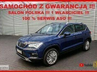 używany Seat Ateca AUTOMAT + Salon PL + 1 WŁ + 100% Serwis !!!