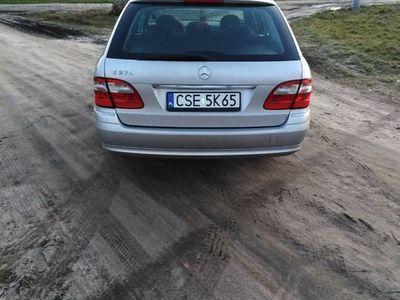 używany Mercedes E270 CDI 177KM