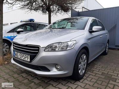 używany Peugeot 301 1.2 72 KM, el. szyby, klimatyzacja, CD/MP3, zadbany!, Łódź
