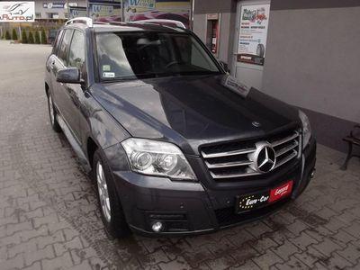 używany Mercedes GLK320 3dm3 224KM 2009r. 254 900km ABS automatyczna klima.