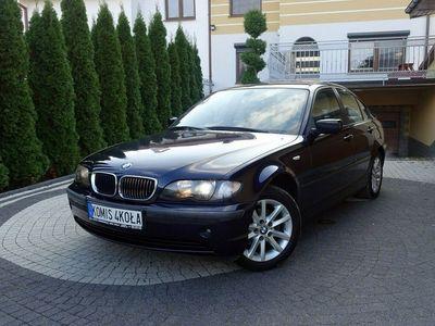 używany BMW 316 1.8dm 115KM 2003r. 250 000km